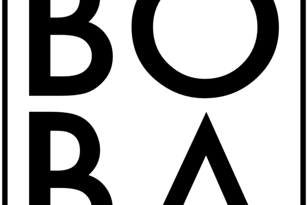 BOBA Logo schwarz